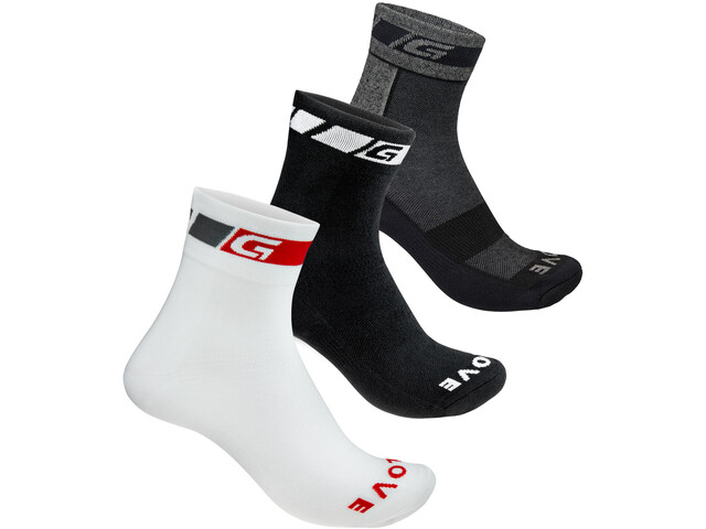 GripGrab All-Season Socken 3-Pack black